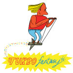 Turbo Fantasy - Turbo above Logo