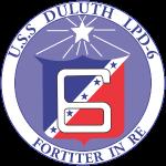 USS DULUTH LPD 6 CREST