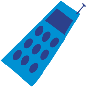 cell phone symbol business