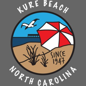 Kure Beach Day-White Lettering-Front Only