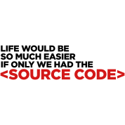 Life has a source code!
