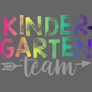 Kindergarten Team Teacher T-Shirts Rainbow