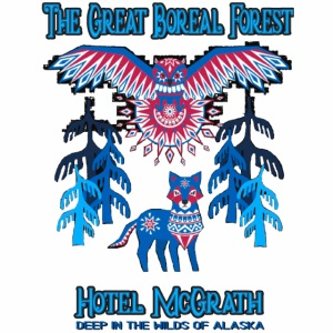Great Boreal Forest tshirt