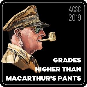 MacArthurs Grades