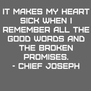 Chief Joseph Quote