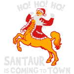 Santaur is Coming to Town