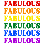 Fabulous Pride Flag
