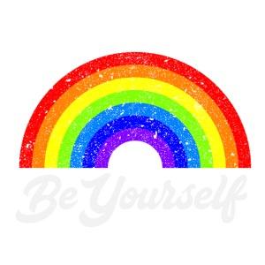 Be Yourself Rainbow