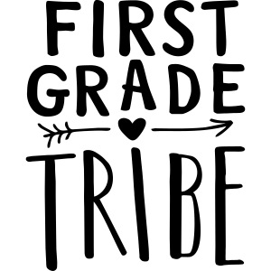 First Grade Tribe Teacher Team T-Shirts