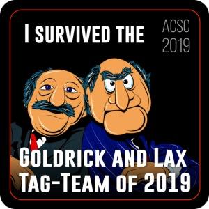 Goldrick and Lax Tag Team