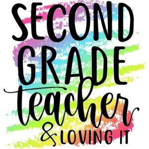 Second Grade Teacher & Loving It Teacher T-Shirts