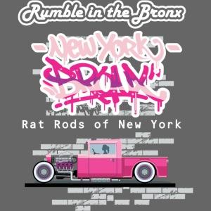 Rumble Bronx Pink Rat Rod 1