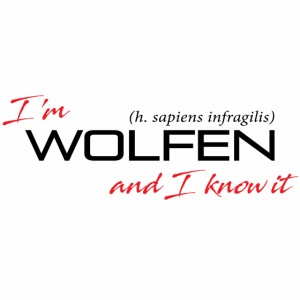 Front/Back: Wolfen Attitude on Light- Adapt or Die