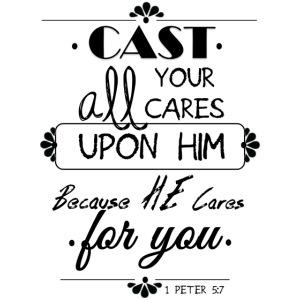 1 Peter 5 7