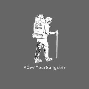 Own Your Gangster Mens & Womens T-shirt White Logo