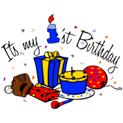 Its my 1st birthday-boy