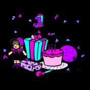 Its my 3rd Birthday-Girl