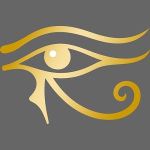Golden Horus eye