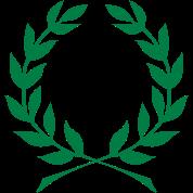 Laurel Wreath Roman Caesar 1c