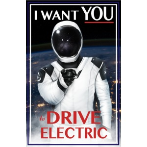 I Want You To Drive Electric/DVTOC Logo
