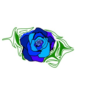 Simple BlueRose design
