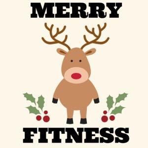 merry fitness Christmas Reindeer