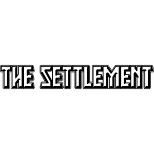 Band Name (Dark, One-Color) | The Settlement