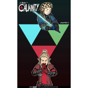 A New Calamity Ch 5 Cover