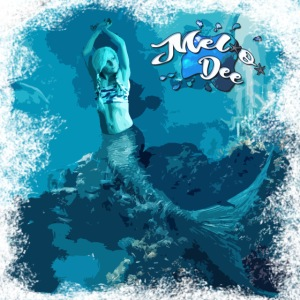 MEL*O*DEE Blue Mermaid Fantasy