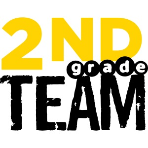 Bold 2nd Grade Team Teacher T Shirts