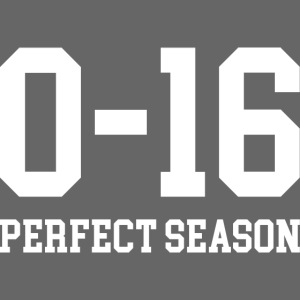 Detroit Lions 0 16 Perfect Season