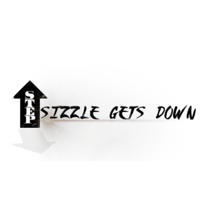 SIZZLE GETS DOWN LOGO