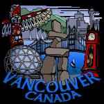 Vancouver Souvenirs Totem Landmark Art