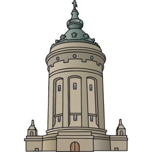 Mannheim water tower