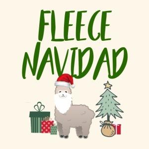 FLEECE Navidad Christmas lama Tee