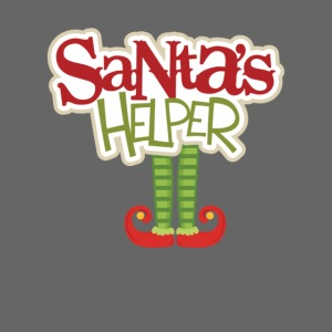 ELF FEET Santa's Helper Christmas tee