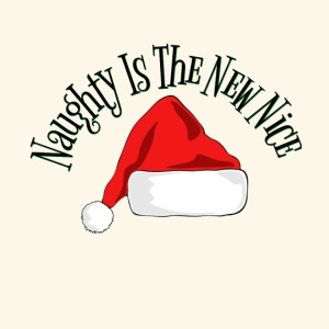 Naughty Is The New Nice Santa Hat Design