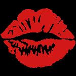 kiss - lips