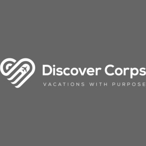 DiscoverCorp Logo Horizontal Rev High white