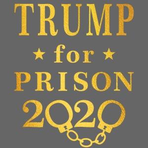 Trump for Prison 2020 Gold