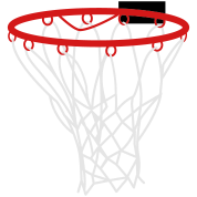 basketball or netball hoop