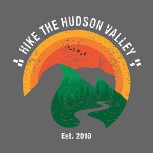 Hike the Hudson Valley (Vintage, dark bkgrnd)