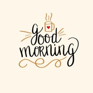 Good Morning Coffee Tee
