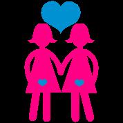 lesbian girls or women holding hands cute!