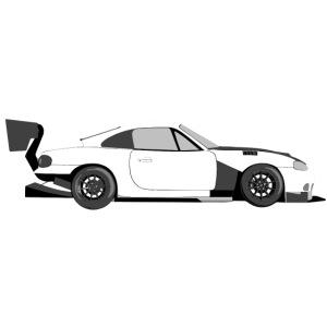 Beavis NB Race car