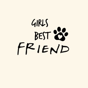 girls best friend Paw Print