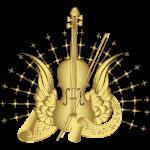 Golden Winged Violin
