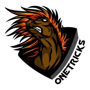 One Tricks Text Logo