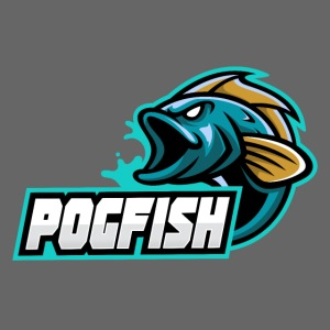 PogFish Text Logo