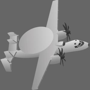 E-2 Hawkeye Airborne Early Warning (AEW) Aircraft